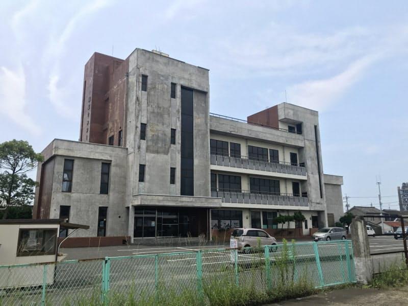 老朽化した山陽小野田市の商工センター