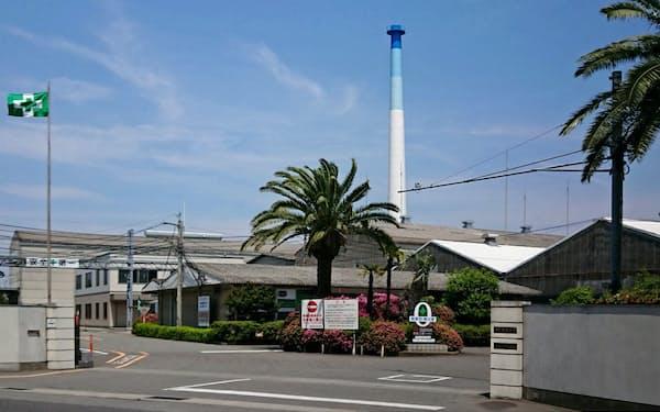 四国化成工業は徳島工場北島事業所内に新プラントを建設中