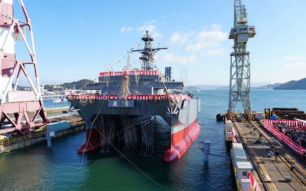 三井E&Sは商船と艦艇の両部門で提携の道を探る