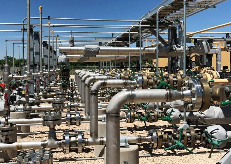 ポイズンピルを導入した米石油開発会社オキシデンタル・ペトロリアムの施設=ロイター