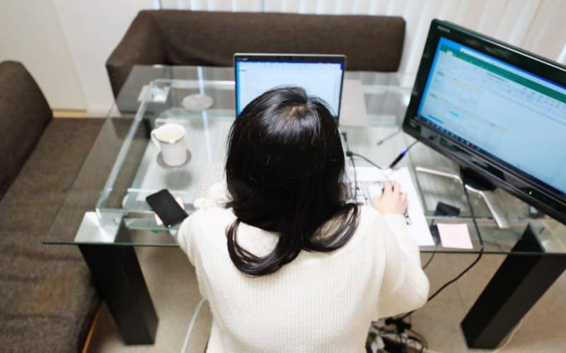 在宅勤務の普及でパソコン需要が増えた