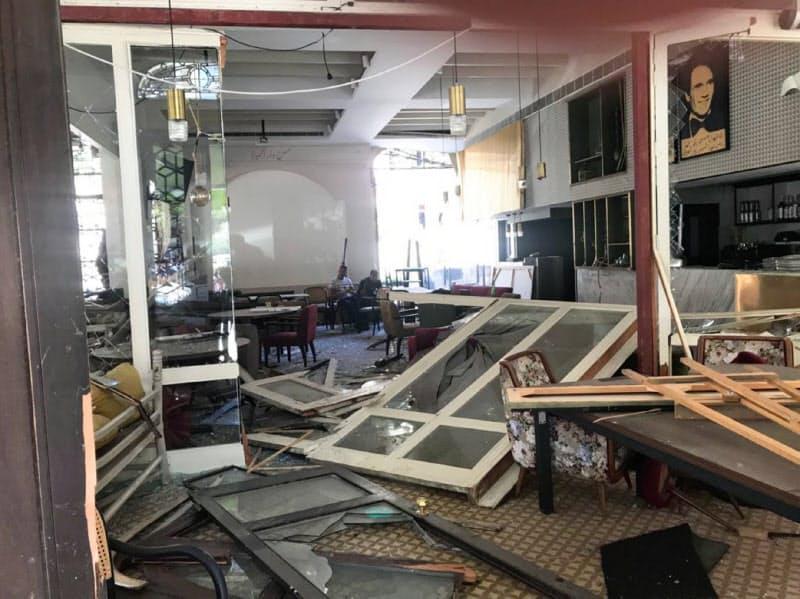 レバノン、首都で非常事態宣言 自宅損壊25万人か