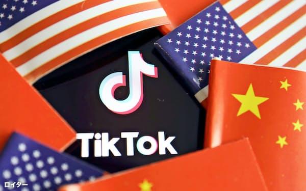 米議会はティックトックについて「利用者情報が中国共産党に渡りかねない」と指摘していた=ロイター