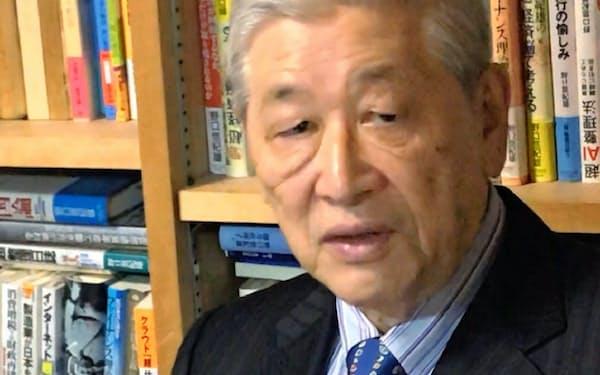 早稲田大学ビジネス・ファイナンス研究センター顧問の野口悠紀雄氏