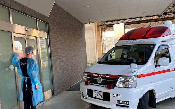 札幌東徳洲会病院には訪日客の患者が搬送されることも多い