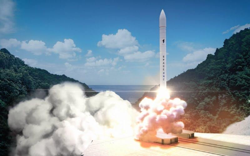 串本のロケット発射場からの打ち上げのイメージ=スペースワン提供