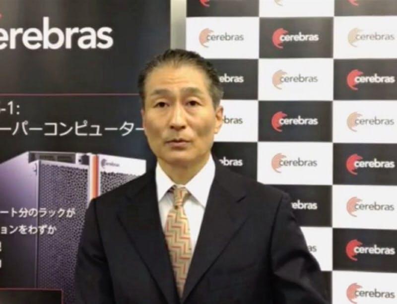 セレブラス・システムズ合同会社(東京・港)の設立を発表する江尾浩昌社長