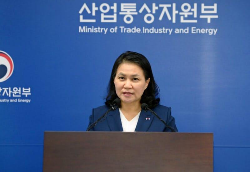WTO事務局長に立候補した韓国の兪明希通商交渉本部長