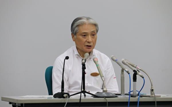 福田知事は「多選批判を受けるのは当然だ」と話した