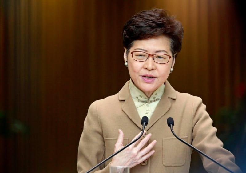 米、香港行政長官ら11人に制裁 対中圧力一段と