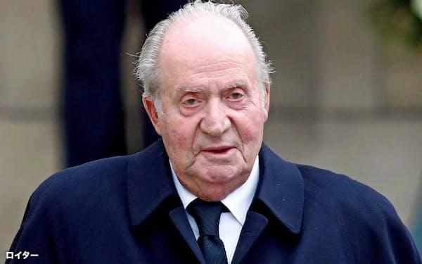 スペインの前国王フアン・カルロス1世=ロイター