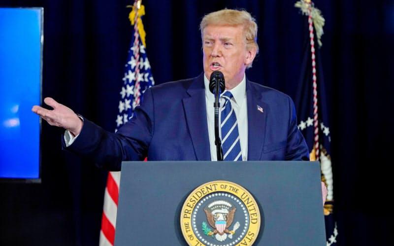 米、コロナ追加対策で混迷 トランプ氏が大統領令へ