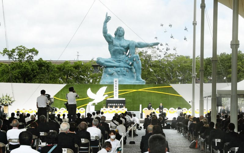 75回目の長崎原爆の日 核なき世界願い、追悼の祈り