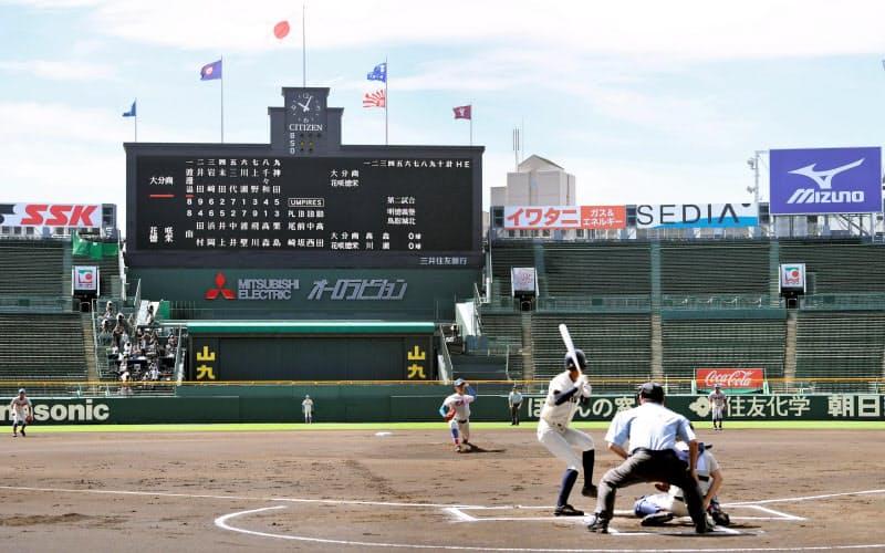 花咲徳栄、大分商を下す 甲子園交流試合が開幕