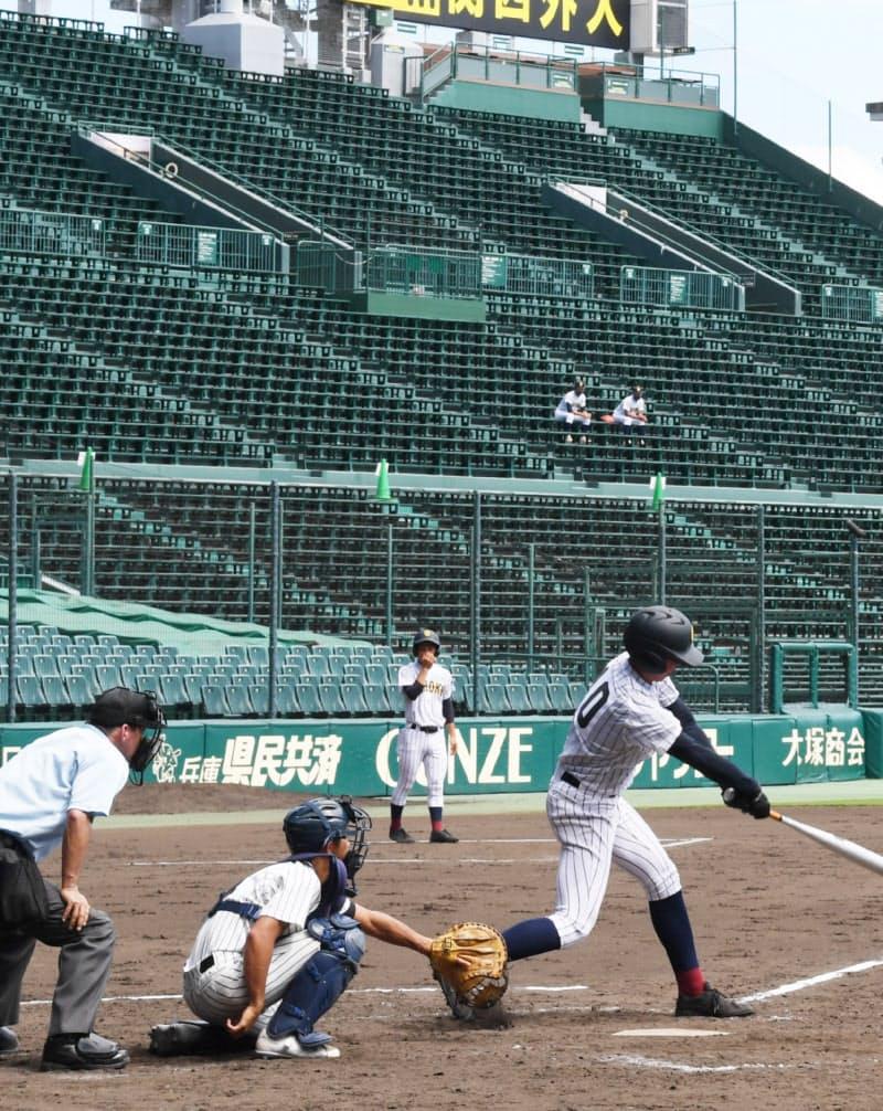 園高校野球交流試合は原則、無観客で開幕した