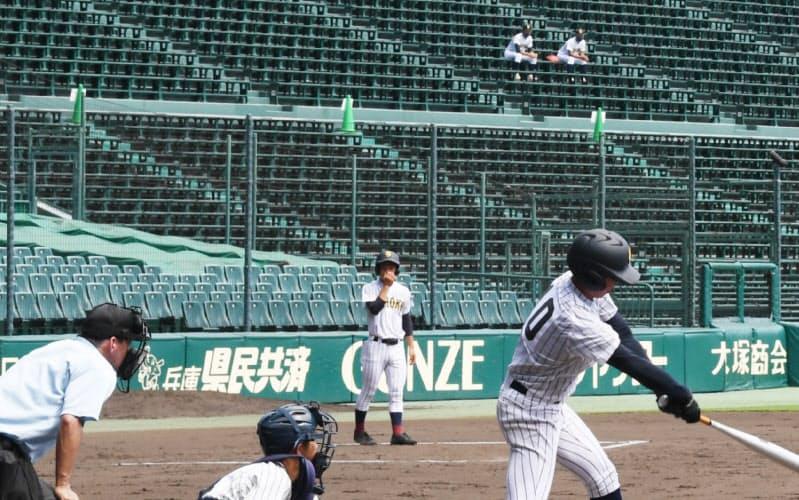 高校野球交流試合は原則、無観客で開幕した