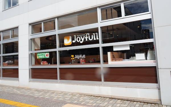 8月31日に閉店するジョイフル大分駅南口店(大分市)