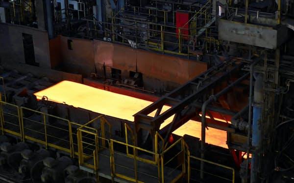 日本製鋼材は米国で代替調達できない割合が高い(日本製鉄の東日本製鉄所君津地区)