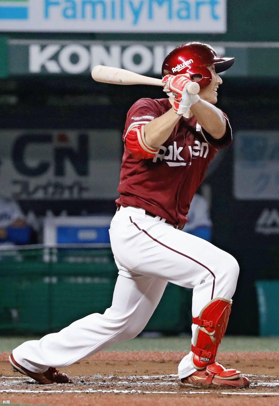 楽天・ルーキー小深田、貴重な二塁打2本: 日本経済新聞