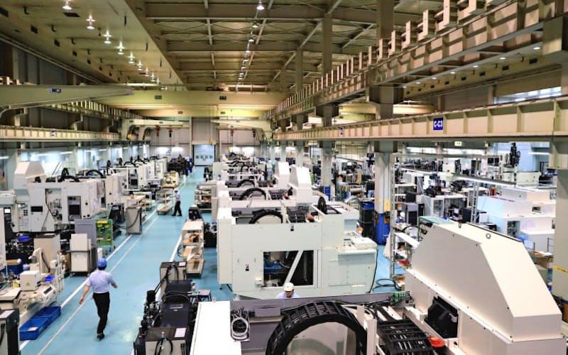 工作機械の受注は中国が支える一方、国内・欧米の回復は遅れている