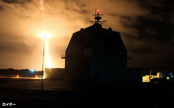 FILE PHOTO: The Missile Defense Agency conducts the first intercept flight test of a land-based Aegis Ballistic Missile Defense weapon system from the Aegis Ashore Missile Defense Test Complex in Kauai, Hawaii, December 10, 2015.  The U.S. government is considering turning the Aegis Ashore missile defense test site in Hawaii into an operational facility that would expand U.S. defenses against possible missile attacks from North Korea, according to sources familiar with the issue. Picture taken December 10, 2015.  REUTERS/U.S. Missile Defense Agency/Leah Garton/Handout via Reuters/File Photo