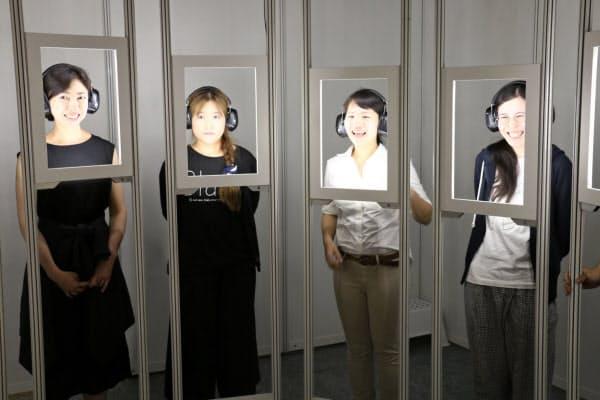 ダイアログ・イン・サイレンスの表情で感情を表現する「顔のギャラリー」
