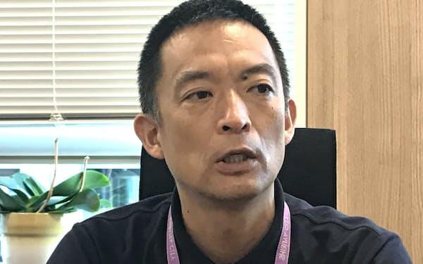 渋谷区の長谷部健区長は「ファッションやエンタメ分野のデジタル活用を支援したい」と話す