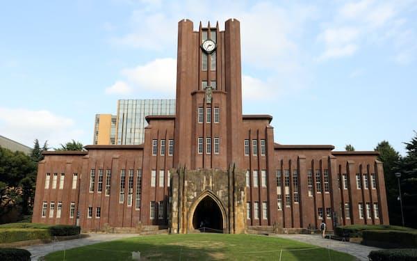 東大は1.5億円を出資して株式会社を設立した(写真は同大安田講堂)
