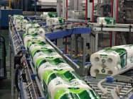 大王製紙は衛生用紙の設備増強を進める