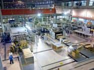 王子HDは東南アジアで工場の新設を加速させている(マレーシアの生産拠点)