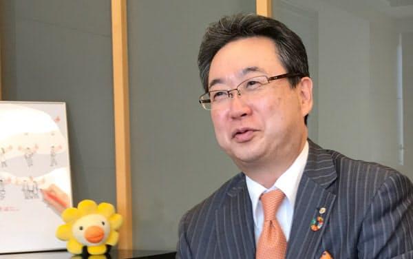 4月に就任したオリエントコーポレーションの飯盛社長