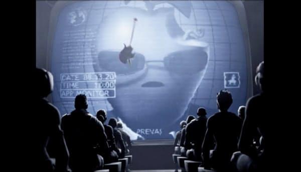 アップルの有名CM「1984」になぞらえ、「アップストア」の反競争的行為を批判する動画を公開した(エピックゲームズの公式ツイッター)