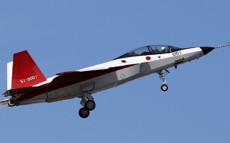 日本は機体やエンジンでは着実に自主開発力をつけつつある(写真は先進技術実証機X2)