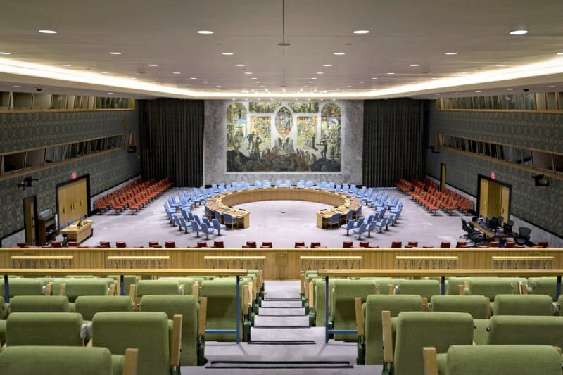 安保理は対イランの武器禁輸を延長する決議を否決した=国連提供