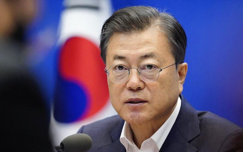 元徴用工問題、韓国大統領「日本と向き合う準備」