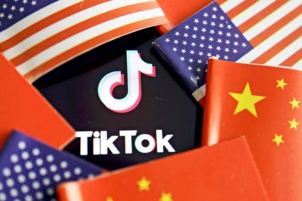 トランプ政権はTikTokを通じて中国政府へ情報が流出する可能性があるとして問題視している=ロイター