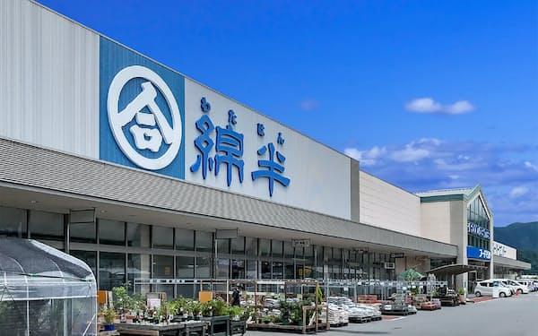 綿半HDは巣ごもり需要の拡大などで業績が好調(長野県中野市の綿半スーパーセンター中野店)