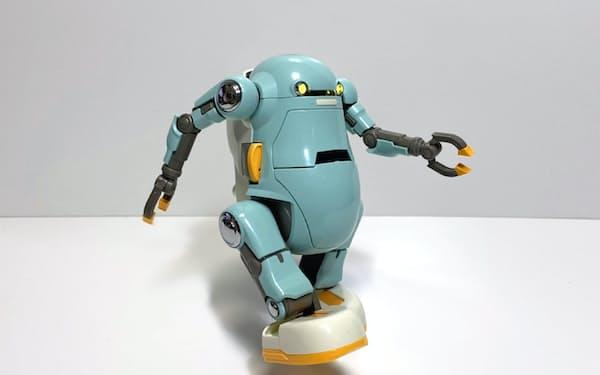 リビングロボットが開発した学習用ロボット「あるくメカトロウィーゴ」((C)小林和史/講談社)