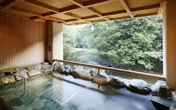 泉佐野市にある犬鳴山の温泉旅館「不動口館」の宿泊券も返礼品に加えた