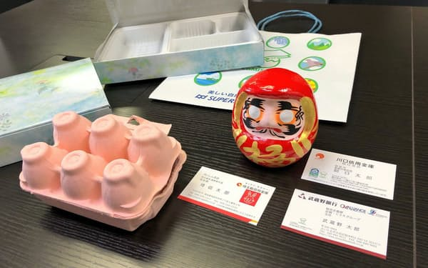 卵の殻を再利用した紙「カミシェル」は様々な用途で使われ始めている