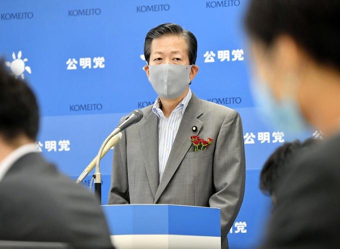 公明代表「Go Toは効果の検証を」: 日本経済新聞