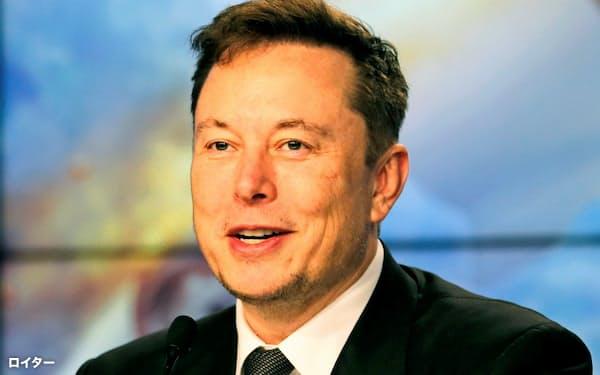 世界富豪ランキングで4位に浮上したテスラのマスクCEO=ロイター
