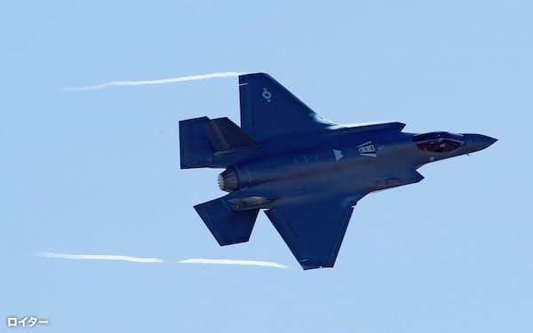 米軍の最新鋭ステルス機F35(1月、米ユタ州)=ロイター