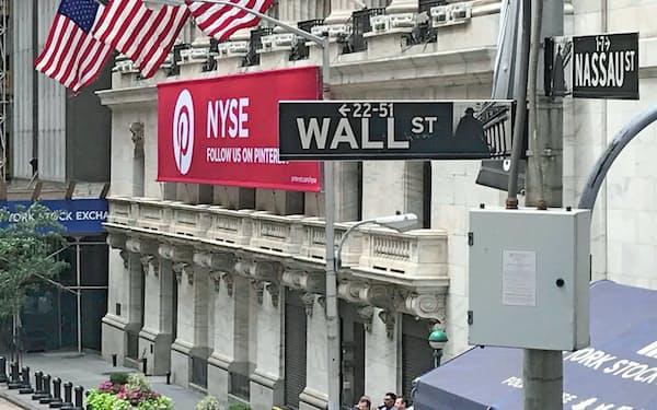 ニューヨーク証券取引所(NYSE)