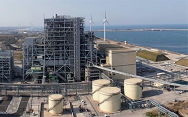 Jパワーと日本製鉄が共同出資する鹿島パワーの最新鋭石炭火力発電所(Jパワーのニュースリリースから)
