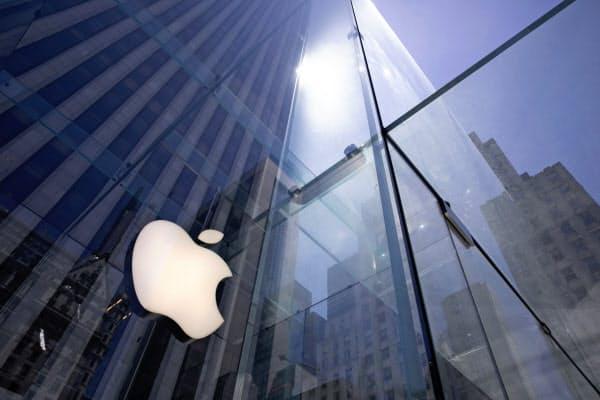 Appleの時価総額は米企業で初めて2兆ドルを超えた=AP