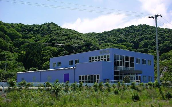 ナイトライド・セミコンダクター本社(徳島県鳴門市)