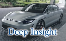 無形経済の道、ソニー走る 車産業を「軽く」する
