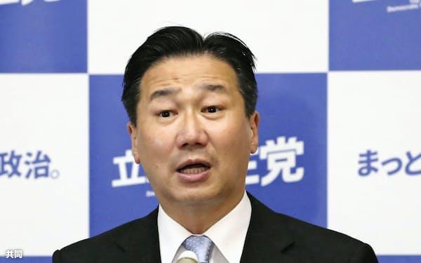 立憲民主党の福山幹事長