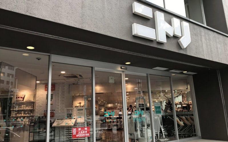 ニトリの既存店売上高は7月も前年同月を約2割上回る